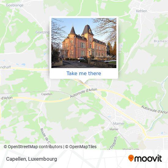 Capellen map