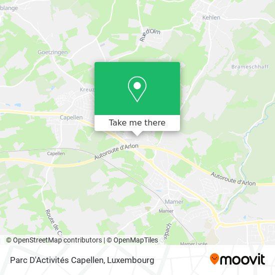 Parc D'Activités Capellen map