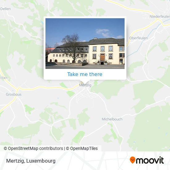 Mertzig map