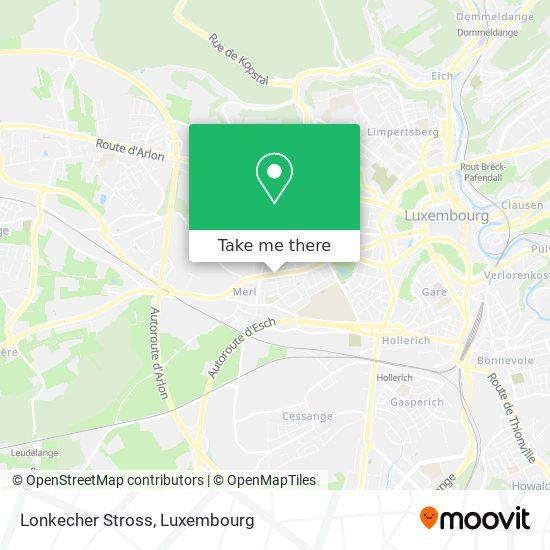 Lonkecher Stross map