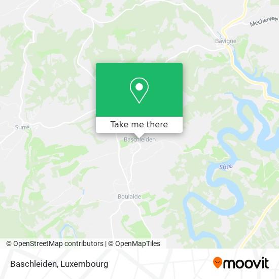 Baschleiden map