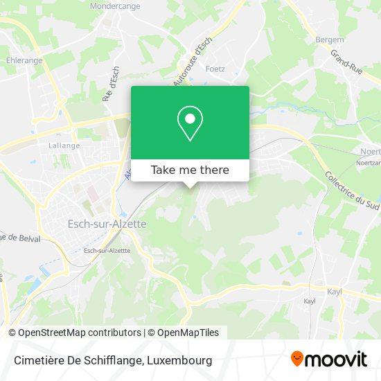Cimetière De Schifflange map
