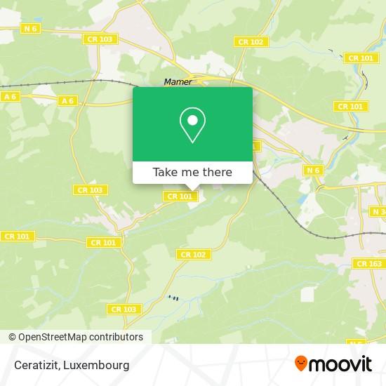 Ceratizit map