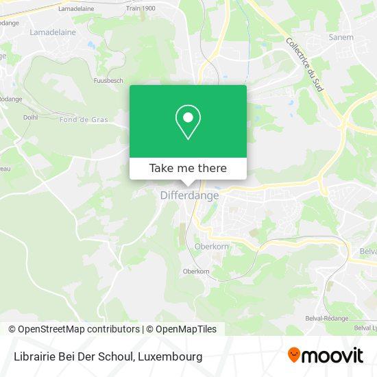 Librairie Bei Der Schoul map