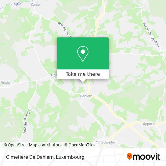Cimetière De Dahlem map