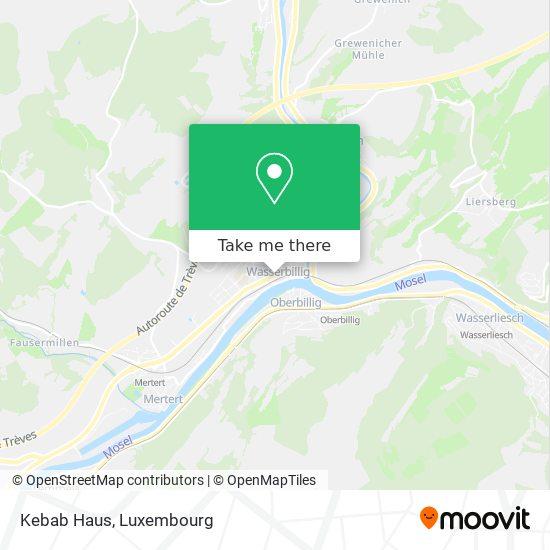 Kebab Haus map