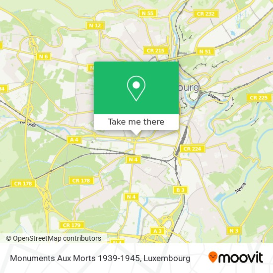 Monuments Aux Morts 1939-1945 map
