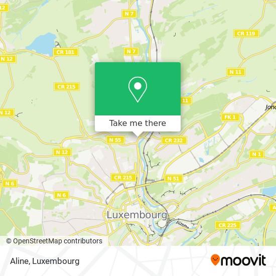 Aline map