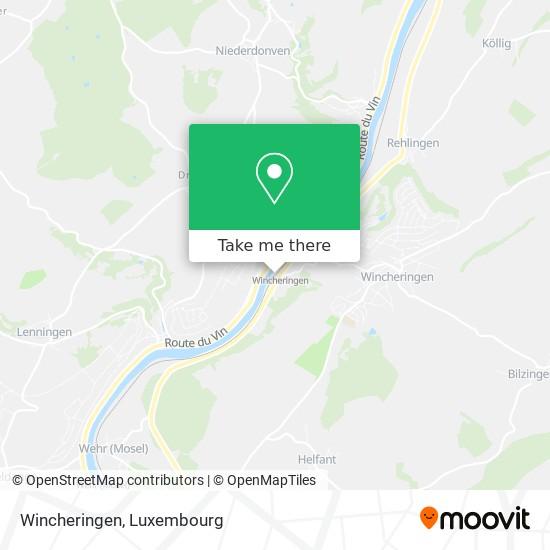 Wincheringen map