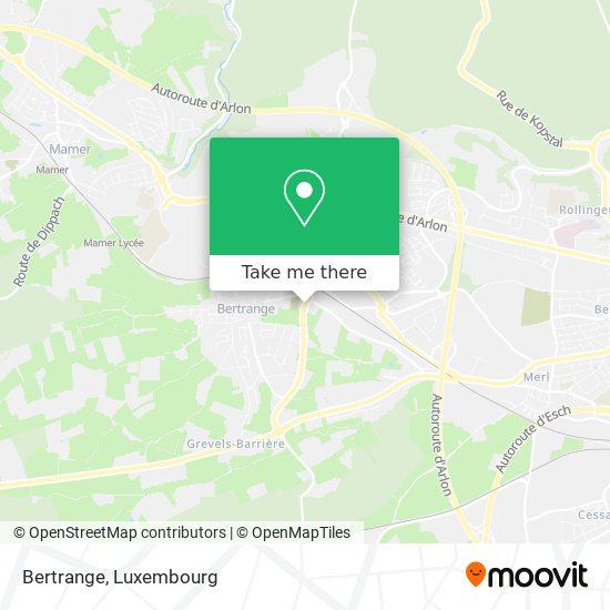 Bertrange map