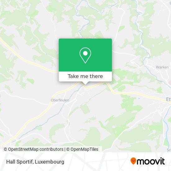 Hall Sportif map