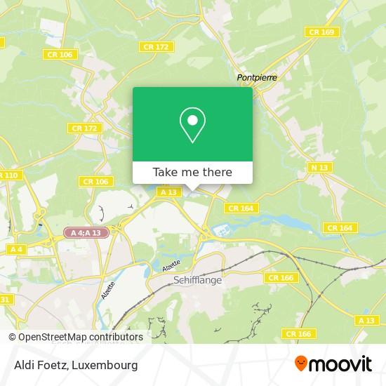 Aldi Foetz map