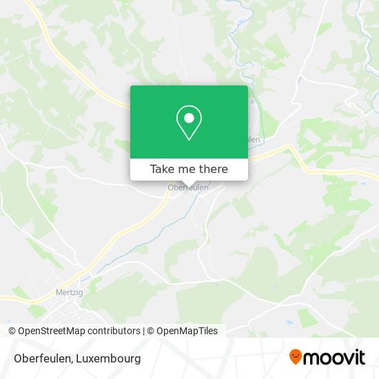 Oberfeulen map