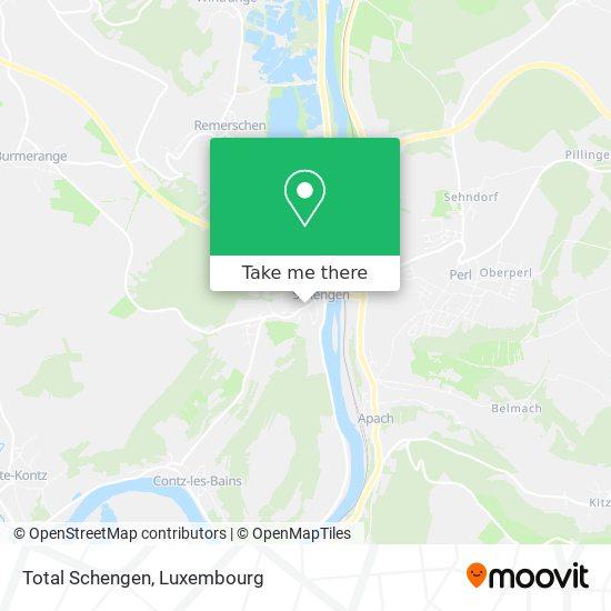 Total Schengen map
