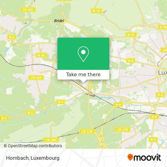 Hornbach map