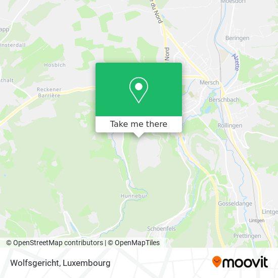 Wolfsgericht map