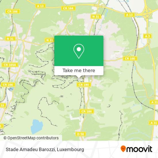 Stade Amadeu Barozzi map