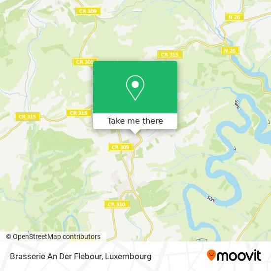 Brasserie An Der Flebour map