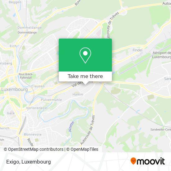 Exigo map