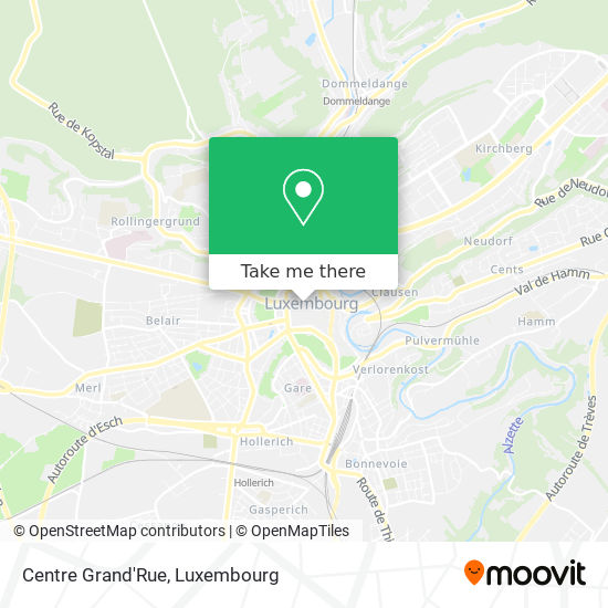 Centre Grand'Rue map