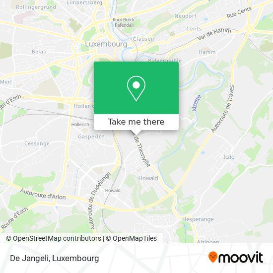 De Jangeli map