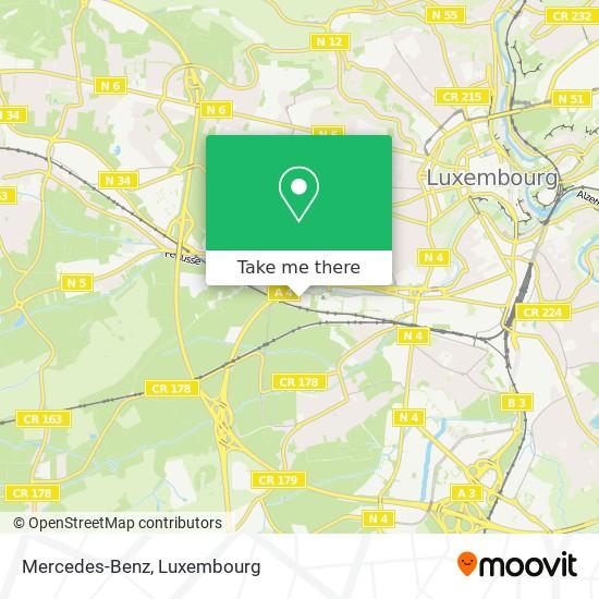 Mercedes-Benz map