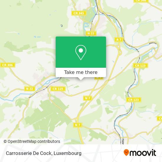 Carrosserie De Cock map