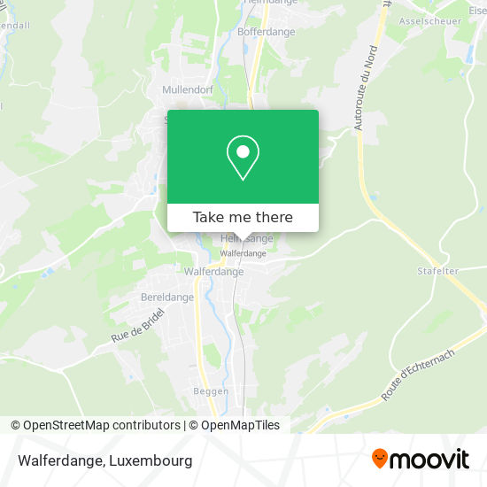 Walferdange map