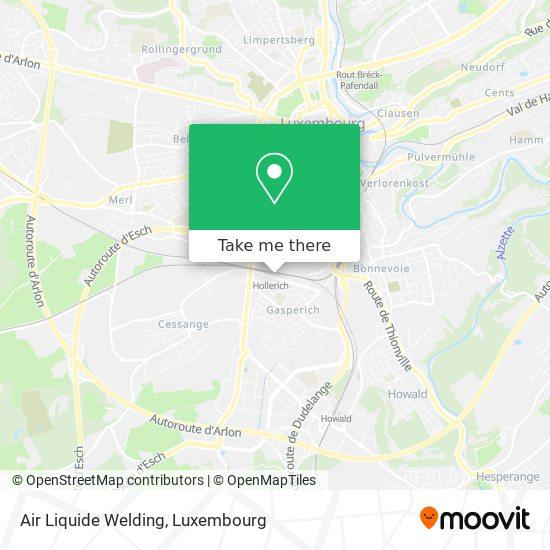 Air Liquide Welding map