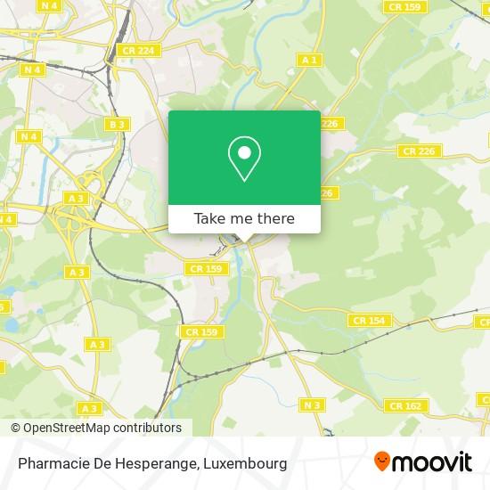 Pharmacie De Hesperange map