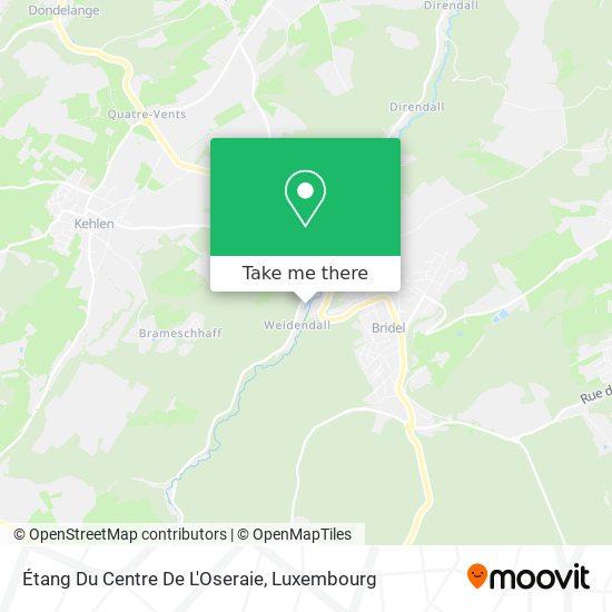 Étang Du Centre De L'Oseraie map