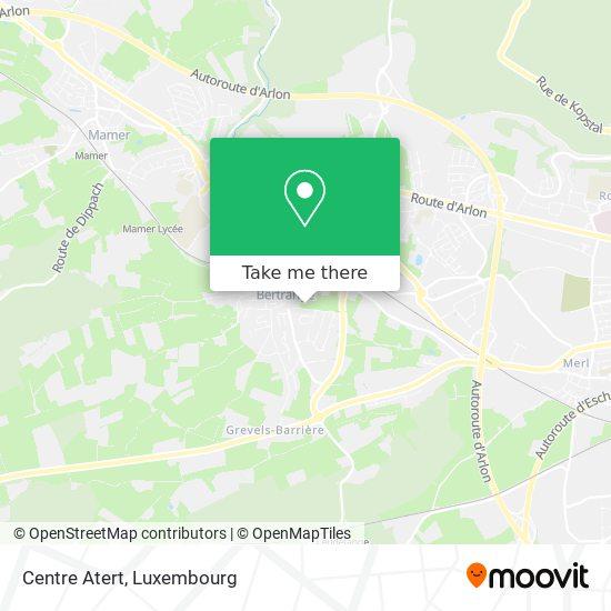 Centre Atert map