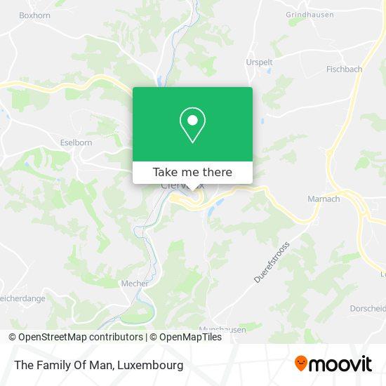 The Family Of Men map