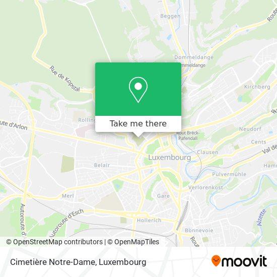 Cimetière Notre-Dame map