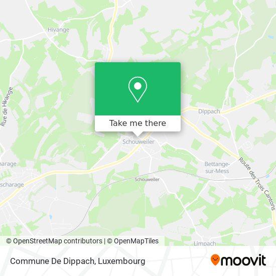 Commune De Dippach map