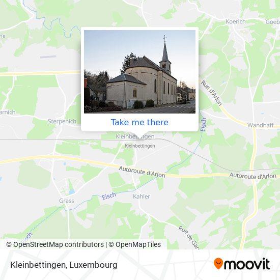 Kleinbettingen map