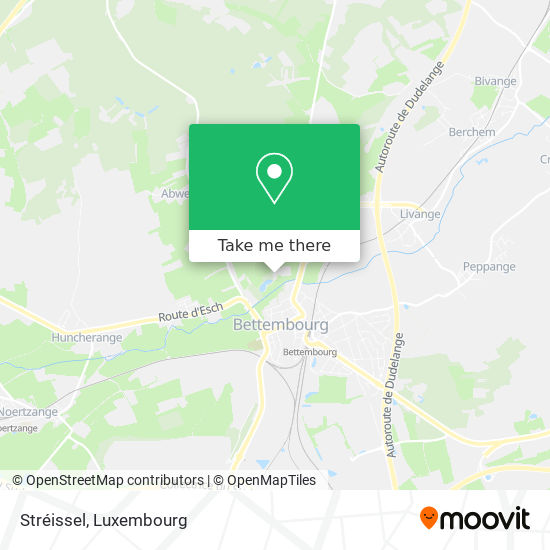Réserve Naturelle Stréissel map