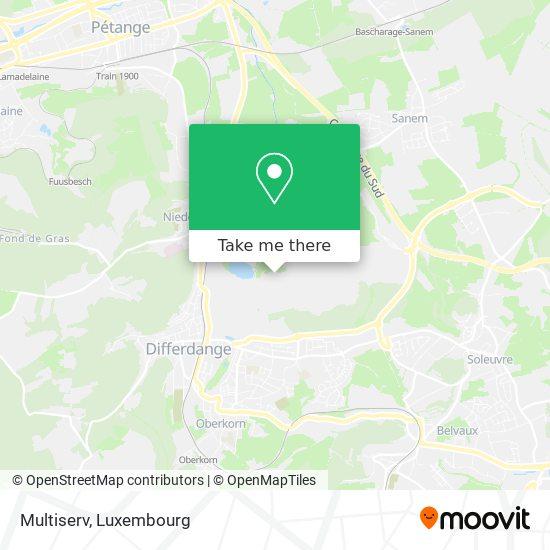 Multiserv map