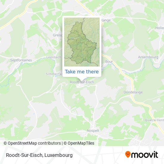 Roodt/Eisch map