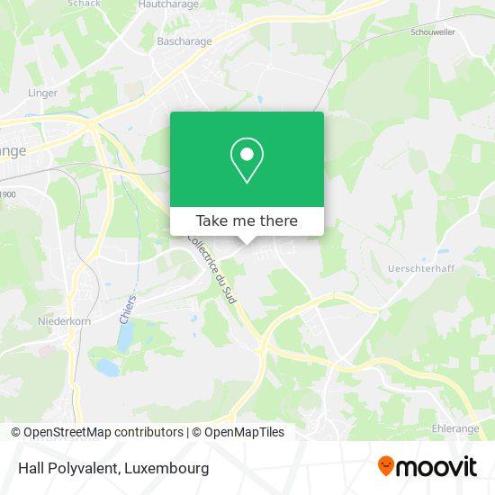 Hall Polyvalent map