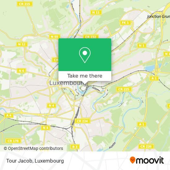 Tour Jacob map
