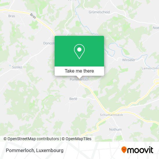 Pommerloch map
