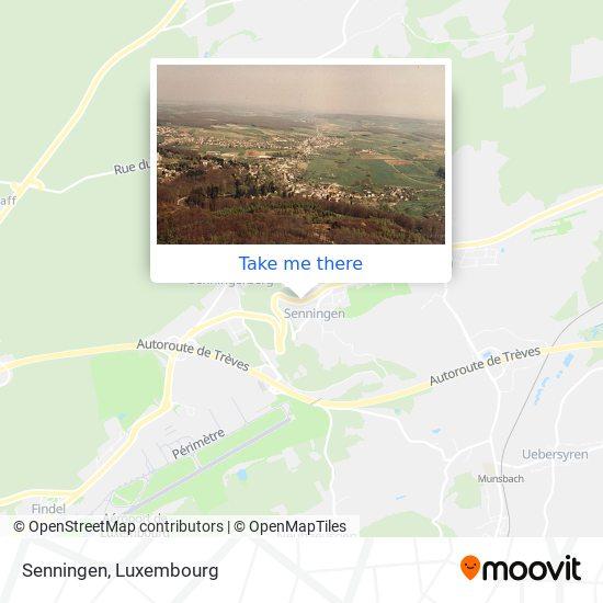 Senningen map