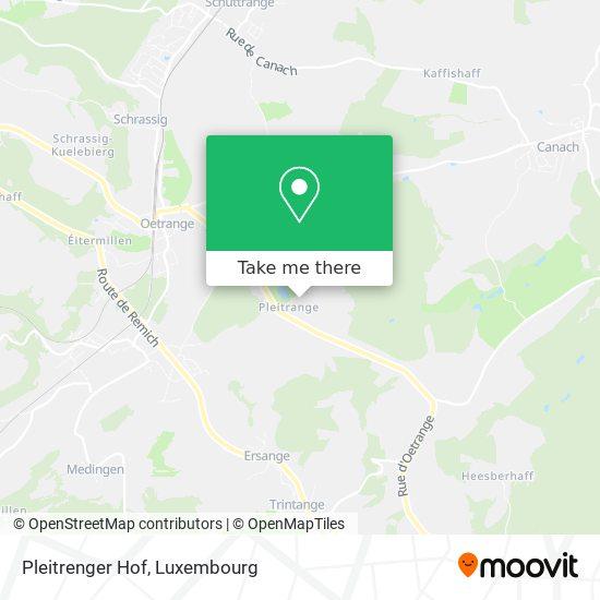 Pleitrenger Hof map
