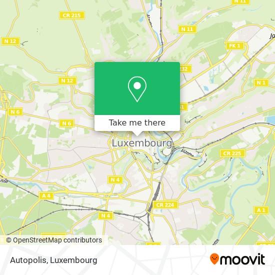 Autopolis map