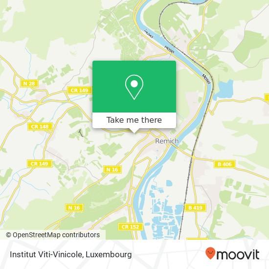 Institut Viti-Vinicole mapa