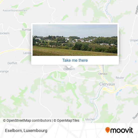 Eselborn map