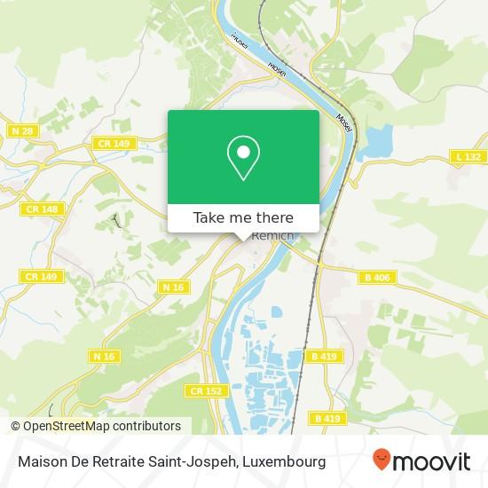 Maison De Retraite Saint-Jospeh mapa