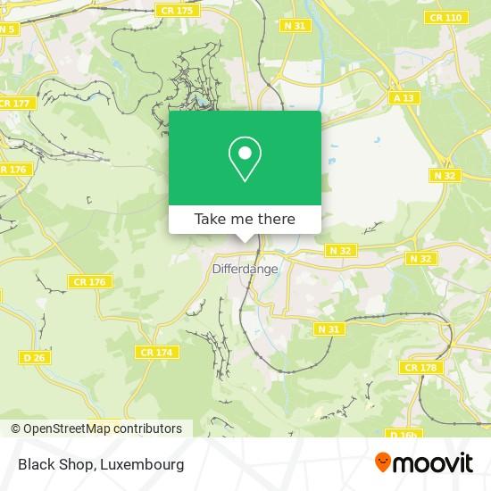 Black Shop map
