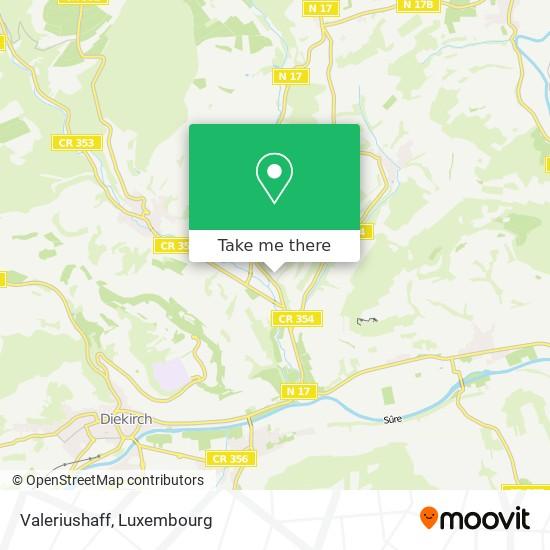 Valeriushaff map